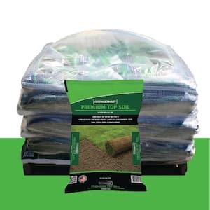 0.75 cu. ft. Screened at 3/8 in. Premium Quality Topsoil (Loam) Pallet (49 Bags)