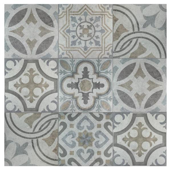 Merola Tile Take Home Sample Llanes Jet 4 5 In X 13 1 8 Ceramic Floor And Wall S1fem13ldm The Depot