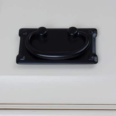 3 in. Center-to-CenterClassic Horizontal Cabinet Swing Drawer Bail Pull (10-Pack)