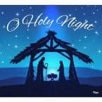 7 ft. x 8 ft. Nativity Scene O'Holy Night-Christmas Garage Door Decor Mural for Single Car Garage