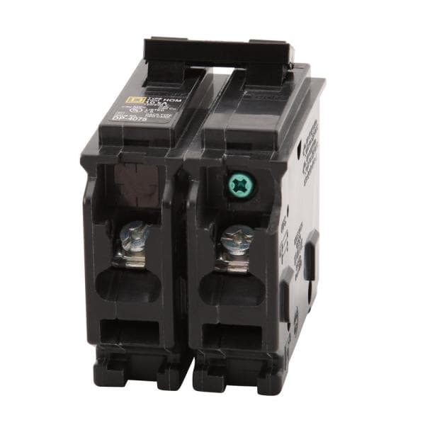 Square D Homeline 20-Amp 2-Pole Standard Circuit Breaker HOM220CP  120//240V New