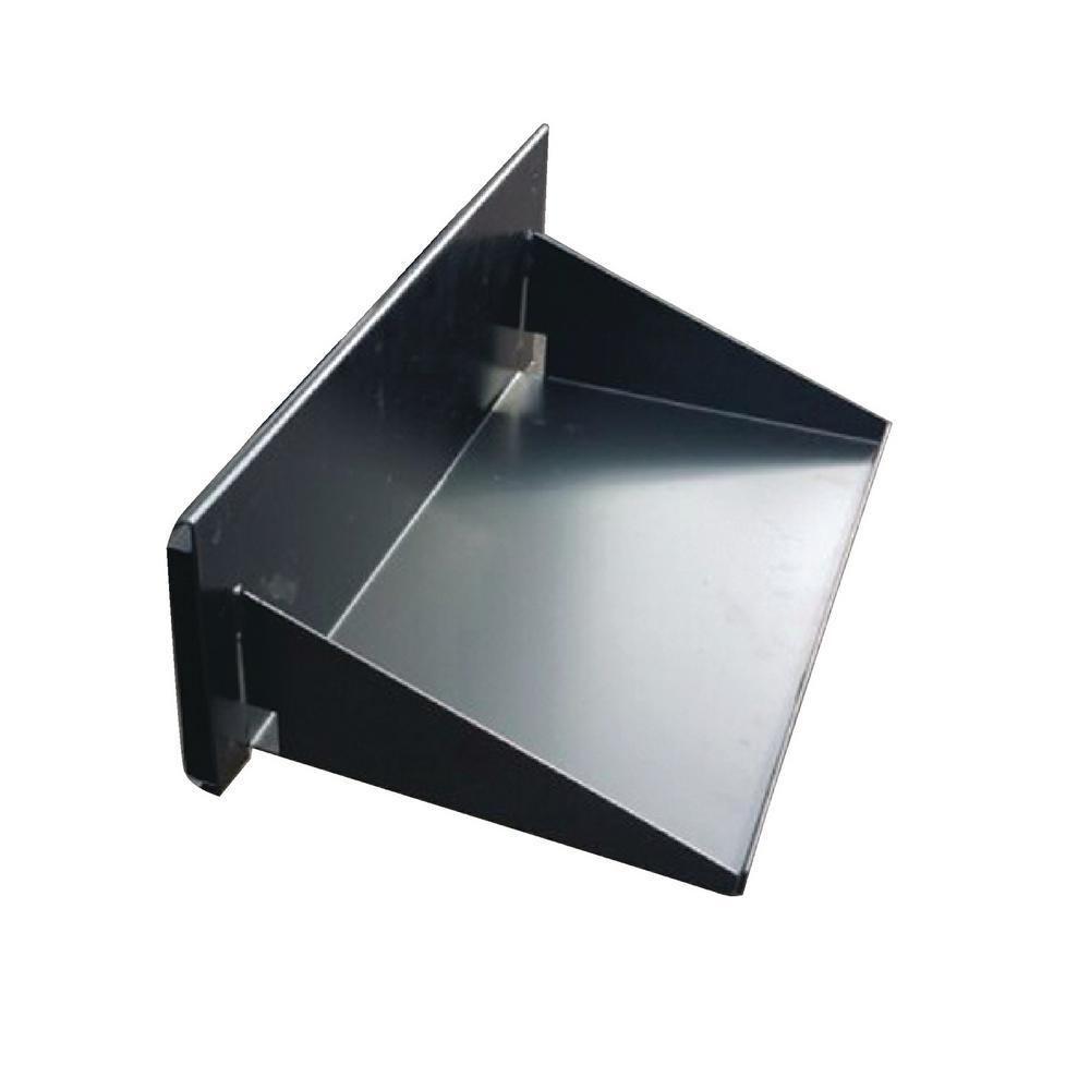 Black Powder Coated 14-Gauge Steel Bumper Grill Arm Table