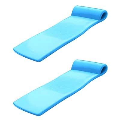 Sunsation 70 in. Bahama Blue Foam Raft Lounger Pool Float (2-Pack)