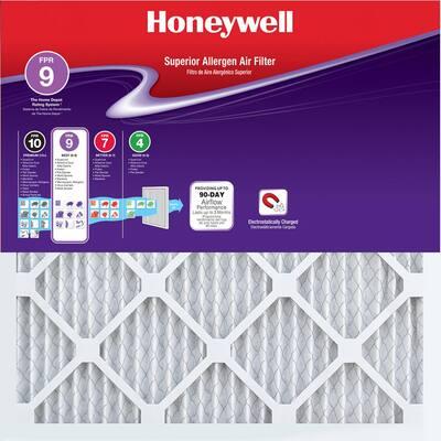 16 x 16 x 1 Superior Allergen Pleated FPR 9 Air Filter