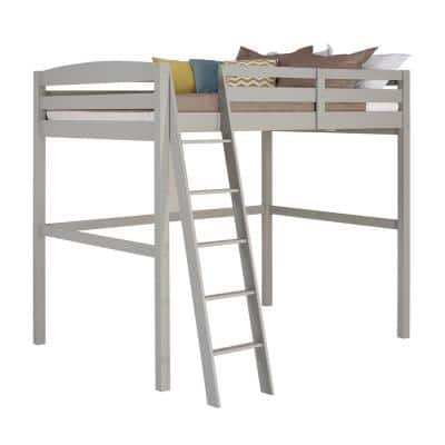 Tribeca Grey Twin Size High Loft Bed