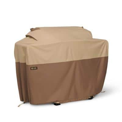 Veranda's Best 58 in. x 30 in. x 48 in. Polyester with Polyvinyl chloride backing BBQ Grill Cover