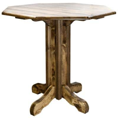 Homestead Collection Early American Pub Table