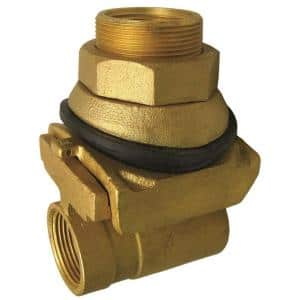 1 in. Brass Pitless Adapter Fitting