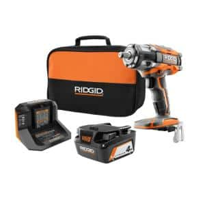 RIDGID 18V OCTANE 1/2 in. Impact Wrench Kit w/ Battery & Charger