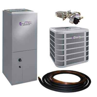 1.5 Ton 14 SEER Residential Split System Electric Heat Pump System with Heat Kit