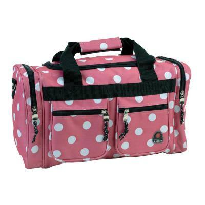 Freestyle 19 in. Tote Bag, Pink dot