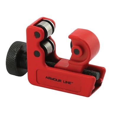 1/8 in. to 1-1/8 in. Diameter Tubing Cutter, Large-Mini, Red