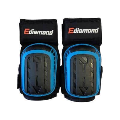 Professional Knee Pads for Construction, Flooring and Cleaning with Heavy-duty Gel Cushion & Anti-Slip Adjustable Straps