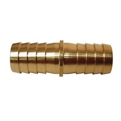 3/8 in. x 3/8 in. Barb Brass Splicer Fitting