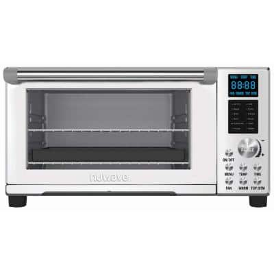 Bravo 1800 W Stainless Steel Air Fryer Toaster Oven with 12-Presets