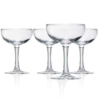 Barcraft 5.5 oz. Glass Coupe Cocktail (4-pack)