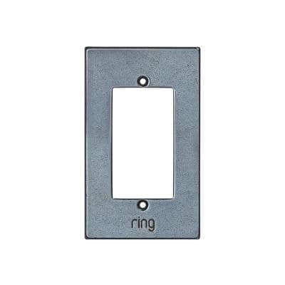 Wired Video Door Bell Elite White Bronze Dark Faceplate