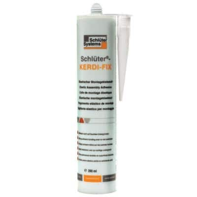 Kerdi-Fix 290 ml Bright White Sealing/Bonding Compound