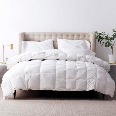 LaCrosse Dual-Sided Climate Lightweight/Medium Warmth King Down Comforter