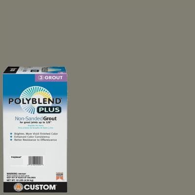 Polyblend Plus #09 Natural Gray 10 lb. Non-Sanded Grout