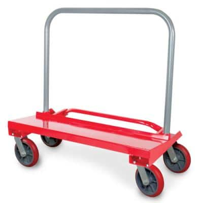 Drywall Cart Removable Handle with 3600 lbs. Load Capacity