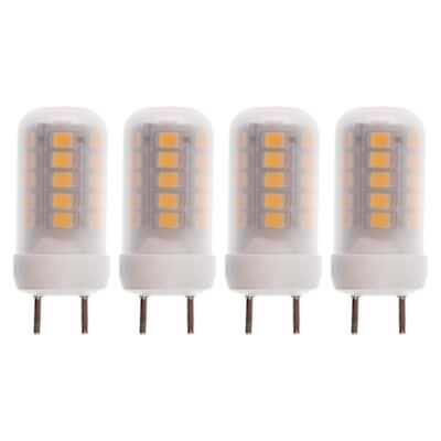 25-Watt Equivalent G8 LED Light Bulb Warm White (4-Pack)