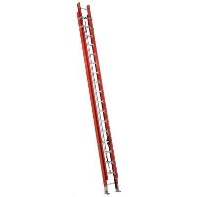 36 ft. Fiberglass Extension Ladder with 300 lbs. Load Capacity Type IA Duty Rating