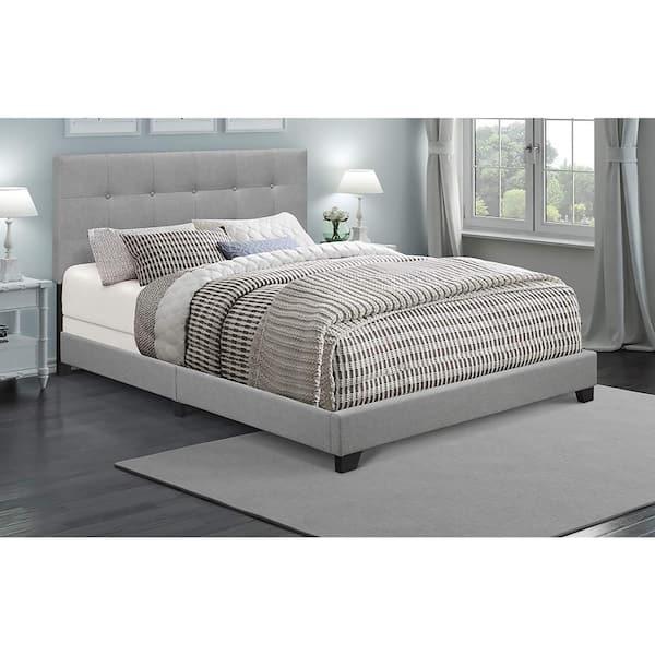 Pulaski Furniture Glacier Queen Upholstered Bed Ds A125 290 113 The Home Depot
