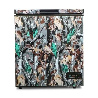 5.4 cu. ft. Manual Defrost Chest Freezer in Green Camo