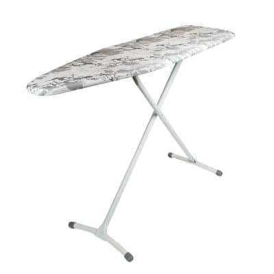 Contour Steel Stable Ironing Board with White Marble Color