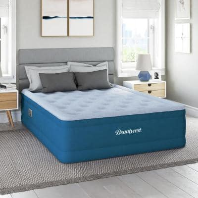 Beautyrest Comfort Plus 17 in. Full Air Mattress with Sure-Lock™ Built-in Pump