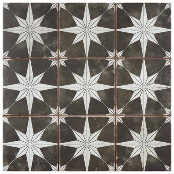 Merola Tile Take Home Sample Harmonia Kings Star Night 4 1 2 In X 13 Ceramic Floor And Wall S1fpehmsni The Depot