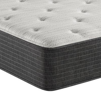 BRS900 12 in. Plush Mattress with 9 in. Box Spring