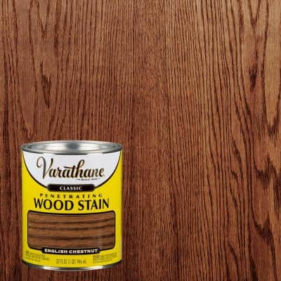 1 qt. English Chestnut Classic Wood Interior Stain (2-Pack)