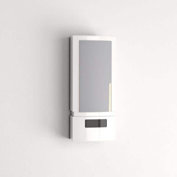 GE - White Wireless Motion-Sensing LED Sconce