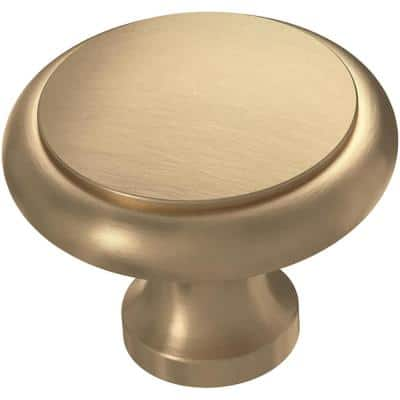 Athens 1-3/16 in. (30 mm) Champagne Bronze Perimeter Cabinet Knob