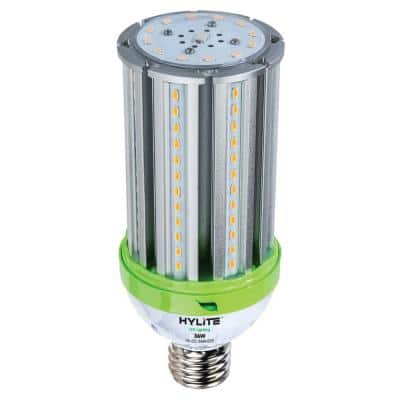 36W omni-cob Lamp 175W HID Equivalent 5000K 5040 lumens Ballast Bypass 120-277V E39 Base IP 65 UL & DLC Listed (1-Bulb)