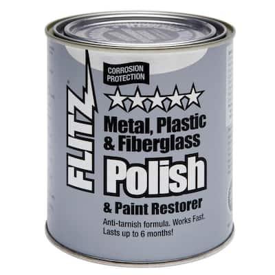 1 gal. Blue Metal, Plastic and Fiberglass Polish Paste Can