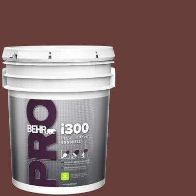 Behr Pro 5 Gal Ppu2 01 Chipotle Paste Eggshell Interior Paint Pr33305 The Home Depot
