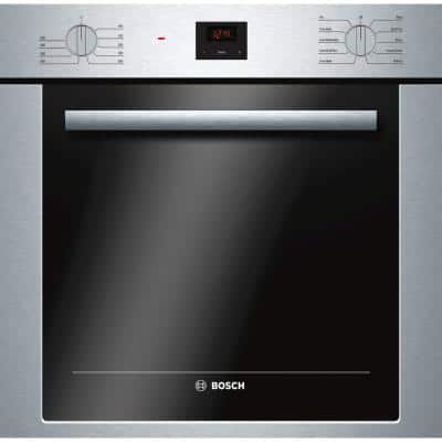 24 in. Single Electric Wall Oven with European Convection and Dual Clean in Stainless Steel
