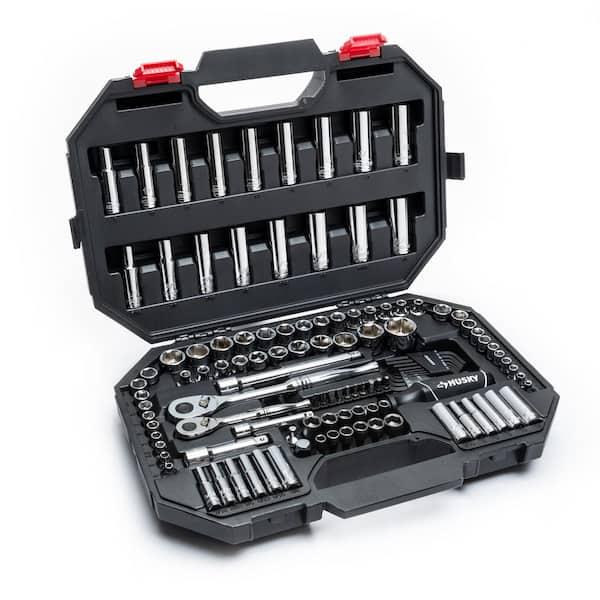 赫斯基119件机械工具集