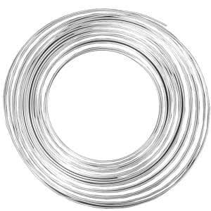 1/4 in. x 50 ft. Soft Aluminum Tubing Coil with 0.032 in. Wall Thickness