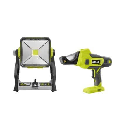 ONE+ 18V Cordless PVC and PEX Cutter with Hybrid 20-Watt LED Work Light (Tools Only)