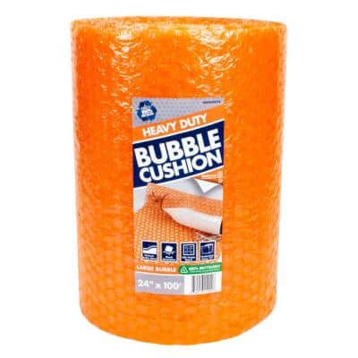 5/16 in. x 24 in. x 100 ft. Perforated Bubble Cushion Wrap