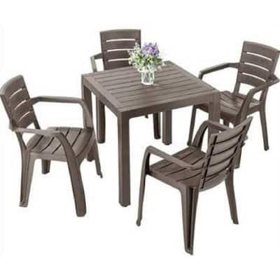 Rimax Plastic Patio Furniture, Outdoor Plastic Patio Furniture