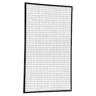 60 in. x 96 in. x 1.5 in. Steel Adjustable Perimeter Guard Panel
