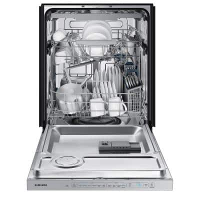 24 in. Fingerprint Resistant Stainless Steel Top Control Built-In Tall Tub Dishwasher with AutoRelease Dry and 48 dBA