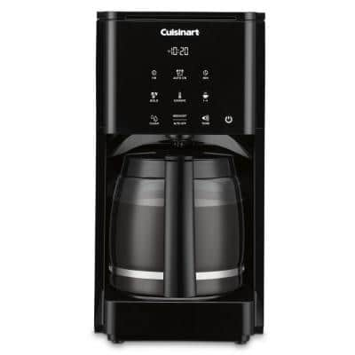Touchscreen 14-Cup Black Drip Coffee Maker