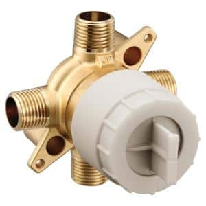 M-CORE 3-Series 1/2 in. 4 Port Tub and Shower Mixing Valve with CC/IPS Connections