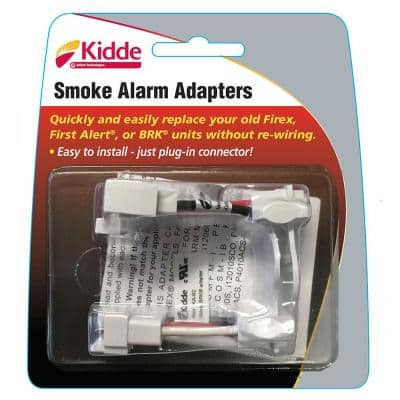 Hardwired Smoke and Combination Detector Adapters